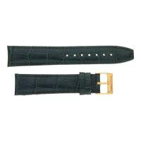 Ritter Uhrband dunkelgrün mit Krokoprägung ALW-34