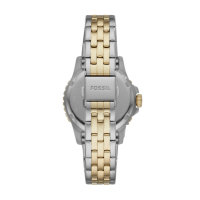 Fossil Damen Uhr ES4745 FB-01 Edelstahl Bicolor