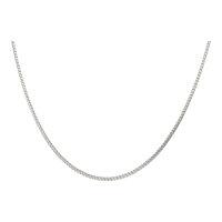JuwelmaLux Halskette 585/000 (14 Karat) Weißgold...