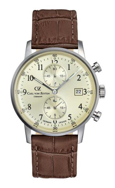 Carl von Zeyten Herrenarmbanduhr CVZ0012CH  Todtnau Chronograph