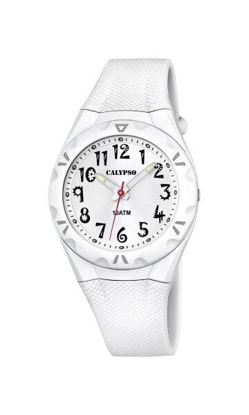 Calypso Damenarmbanduhr Kunststoff K6064/1 Trendy