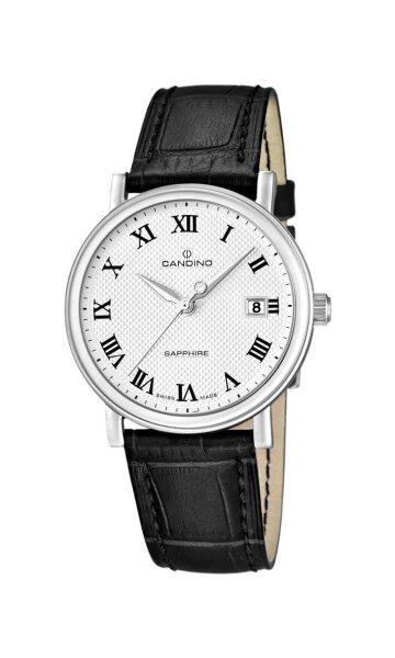 Candino Herrenarmbanduhr Classic Timeless C4487/4 Klassik mit Saphirglas 129