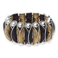 Modern Caps Design MCD01-55-1217 Armband Lila/Hellgold