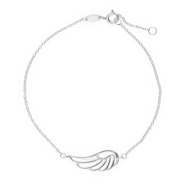 JuwelmaLux Armband Flügel Silber 925/000 JL16-03-0077