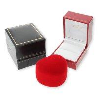JuwelmaLux Ring Gelbgold 750er 18 Karat mit Brillant 0,10 ct. JL10-07-0096